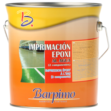 Imprimación epoxi al agua mate blan